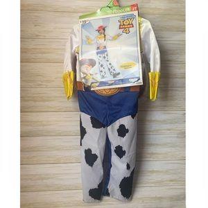 NEW Disney Toy Story 4 Jessie Costume 2pc